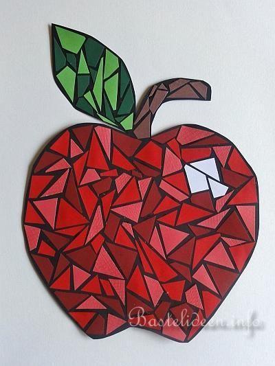 Bildergebnis für apfel fensterbild vorlage | Kids art ...