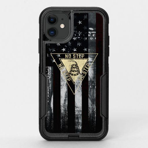 Gadsden Military Aviation Vintage American Flag OtterBox Commuter iPhone 11 Case