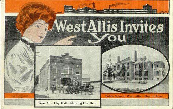 Advertising West Allis Invites You Advertising Wisconsin West Allis Wisconsin West Allis Milwaukee Wi
