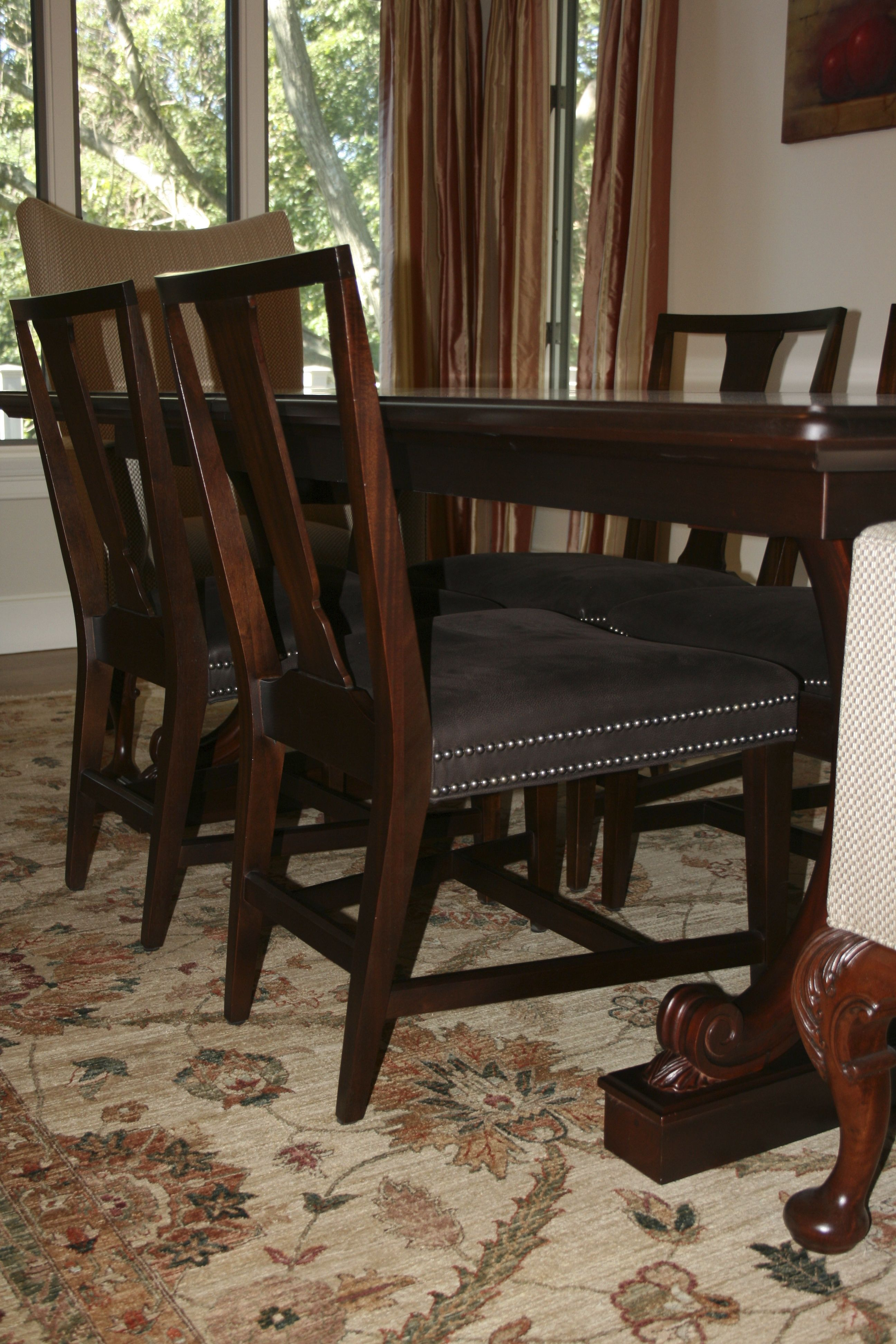 Library Dining Table Surry Side Chair And Reading Chair Captivating Hickory Dining Room Chairs Decorating Inspiration
