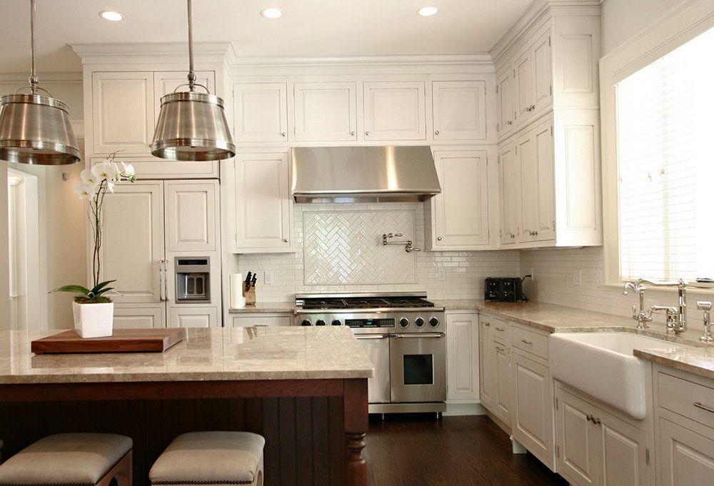 Tile Kitchen Backsplash Ideas Glass Subway Tile Kitchen