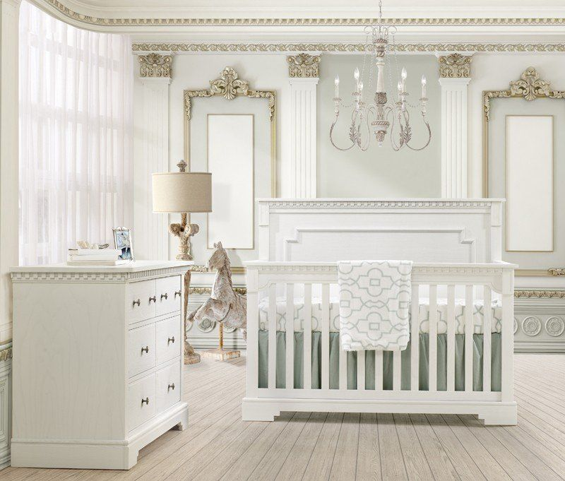 Baby Kinderzimmer In Weiß Gestalten   Praktisch Und Schön