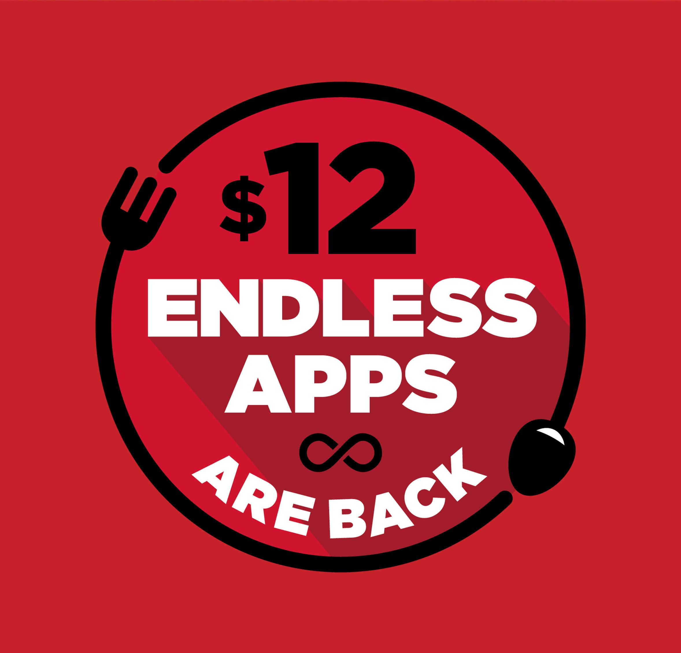 12.99 Endless Apps are back at Fridays! App, How to