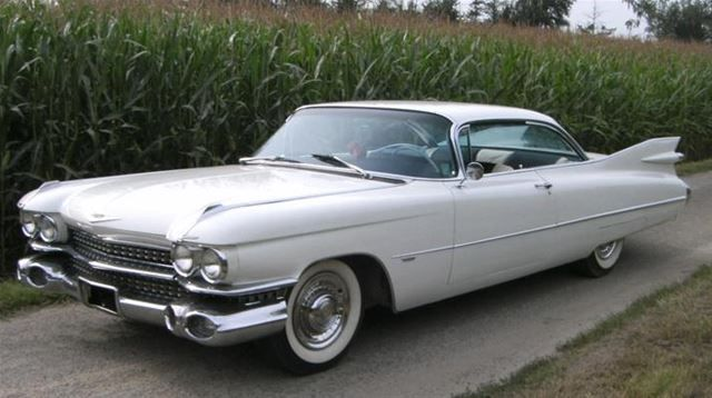 1959 Cadillac Coupe Deville For Sale Classic Cadillacs Pinterest