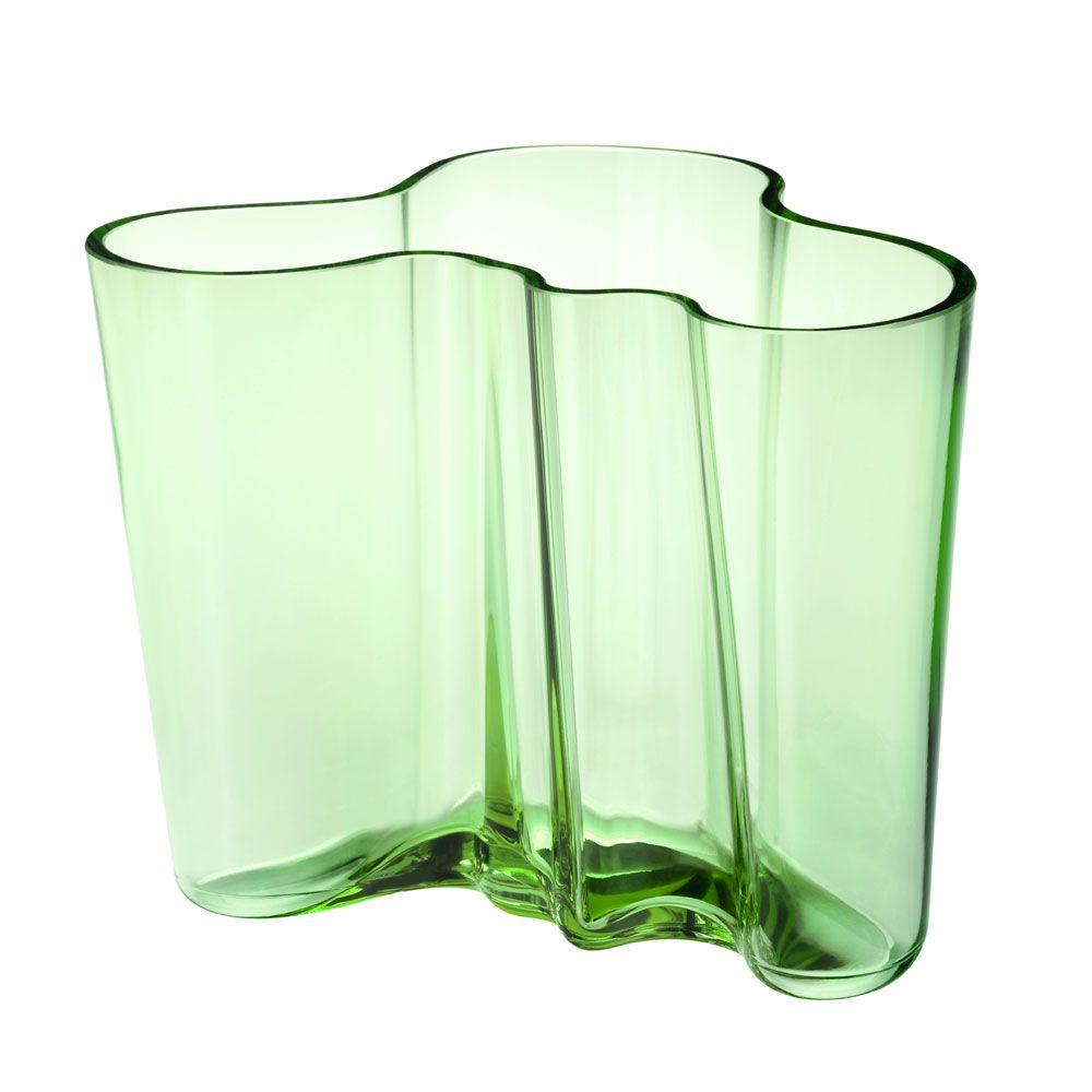 Alvar Aalto Vase Eplegrønn, Iittala