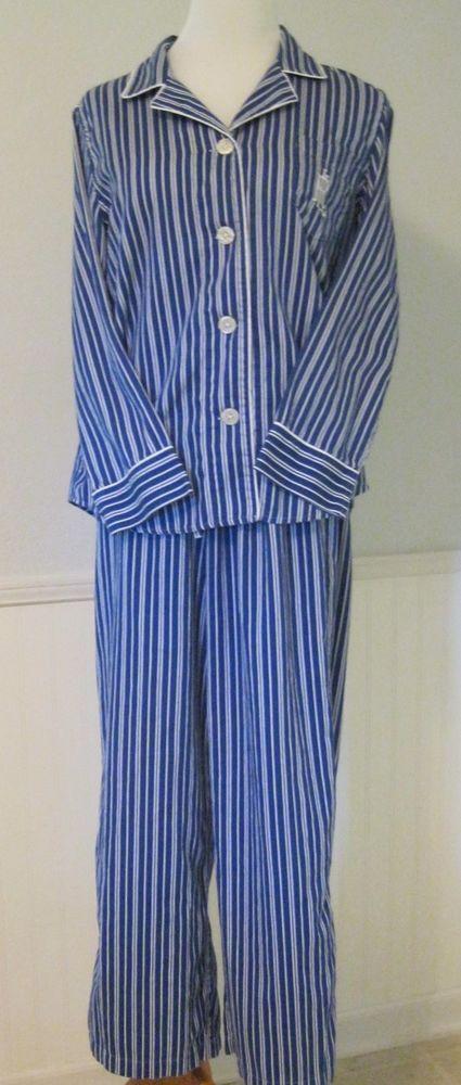 c35687fcb94 Ralph Lauren Pajamas Women Lg 100% Soft Cotton