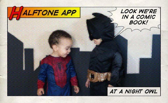 The Halftone Comic Book App Comic book app, Comic books