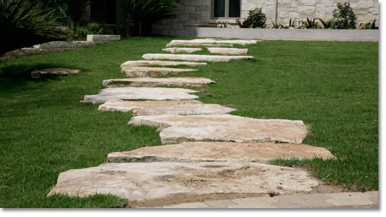 Espinoza Limestone Stepping Stones YA this is what I want for my