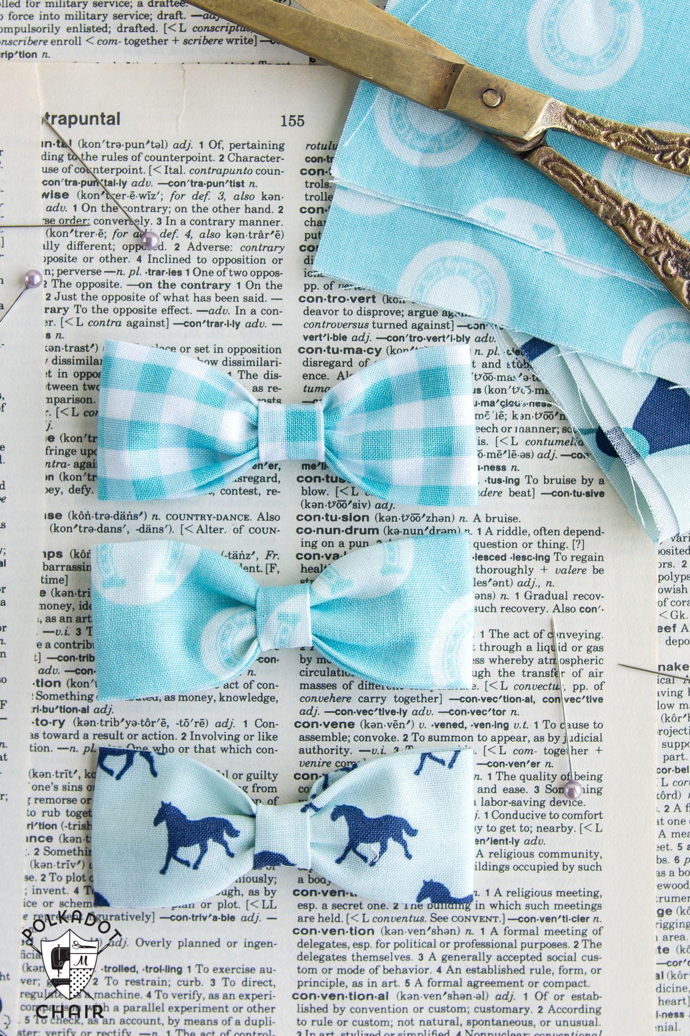 Bow tie bracelet diy sewing pattern on polkadotchair sewing bow tie bracelet diy sewing pattern on polkadotchair jeuxipadfo Images