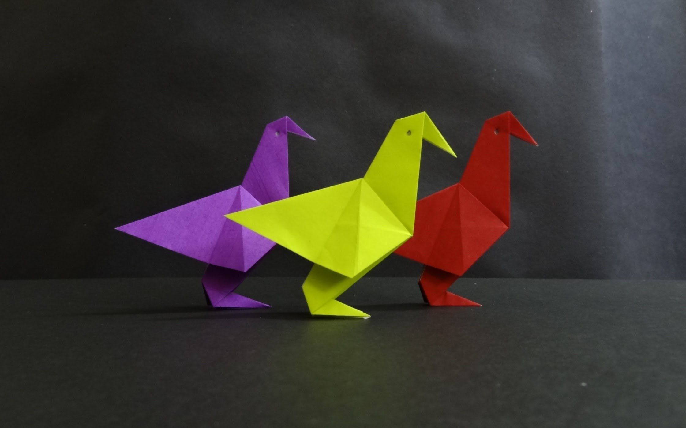 Origami bird tutorial how to fold a simple paper bird origami origami tutorial on how to fold an origami simple paper bird paper toys are easy to make and always attract young kids this simple paper bird can be jeuxipadfo Choice Image