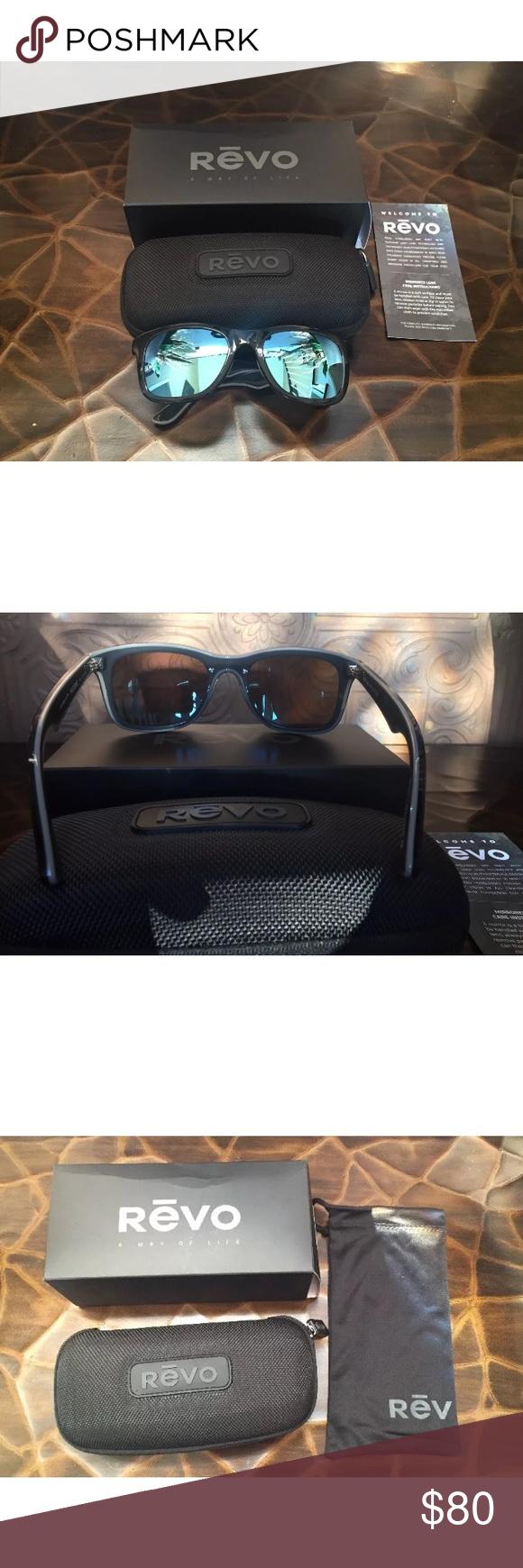 b4b030a3ac NEW REVO Huddie Polarized Sunglasses W  Case REVO Huddie Model RE 1000  polarized sunglasses.