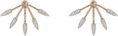 Pamela Love Fine Jewelry Five Spike Earrings -  - Barneys.com