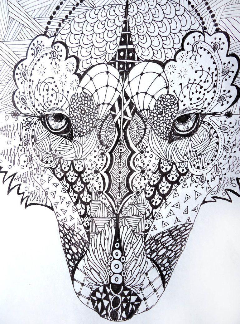 zentangle face - Google Search | Zentangle | Pinterest | Windowcolor ...