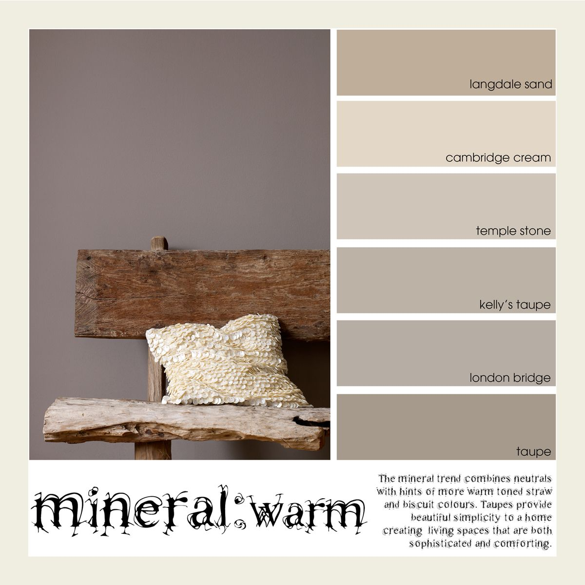 Mineral Warm Paint Trends For 2014 G Amp B Inspiration