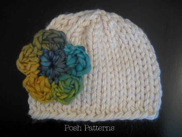 Knitting Pattern Knit Hat Pattern Easy Knitting Pattern