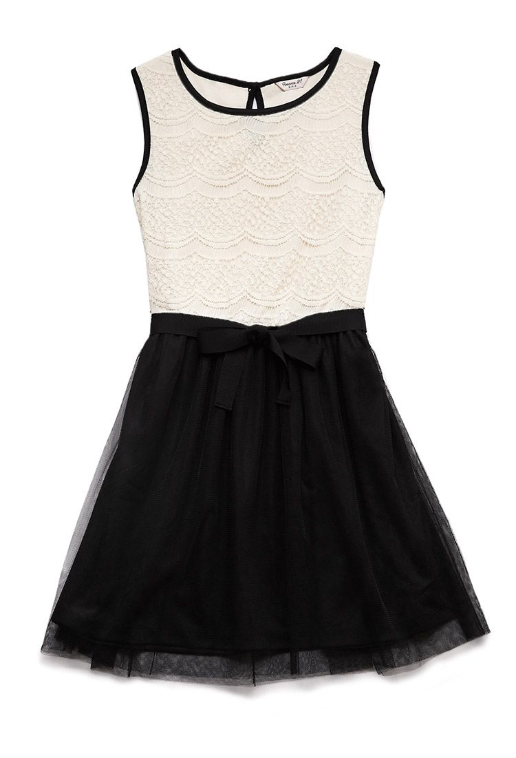 Dainty lace dress kids forever girls pretty in lace juniors