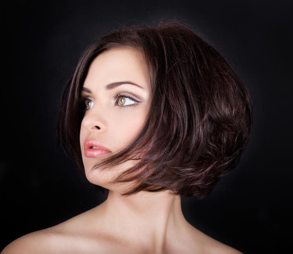 Модная стрижка каре боб на средние волосы (50 фото ...