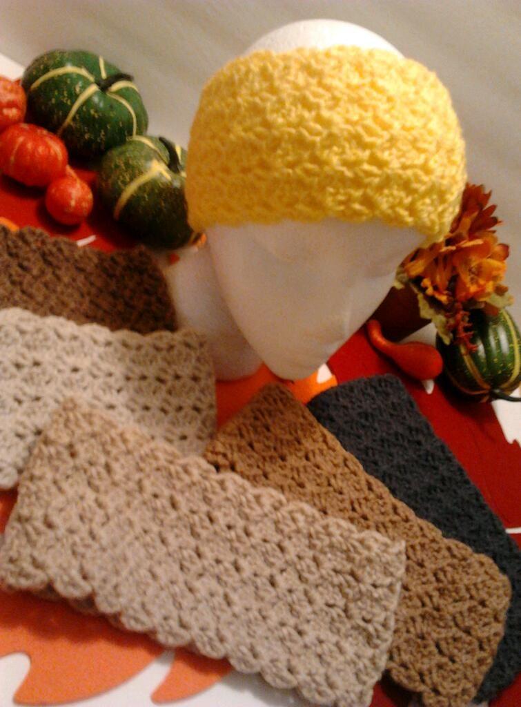 Ear Warmer Headbands   Crochet   Pinterest
