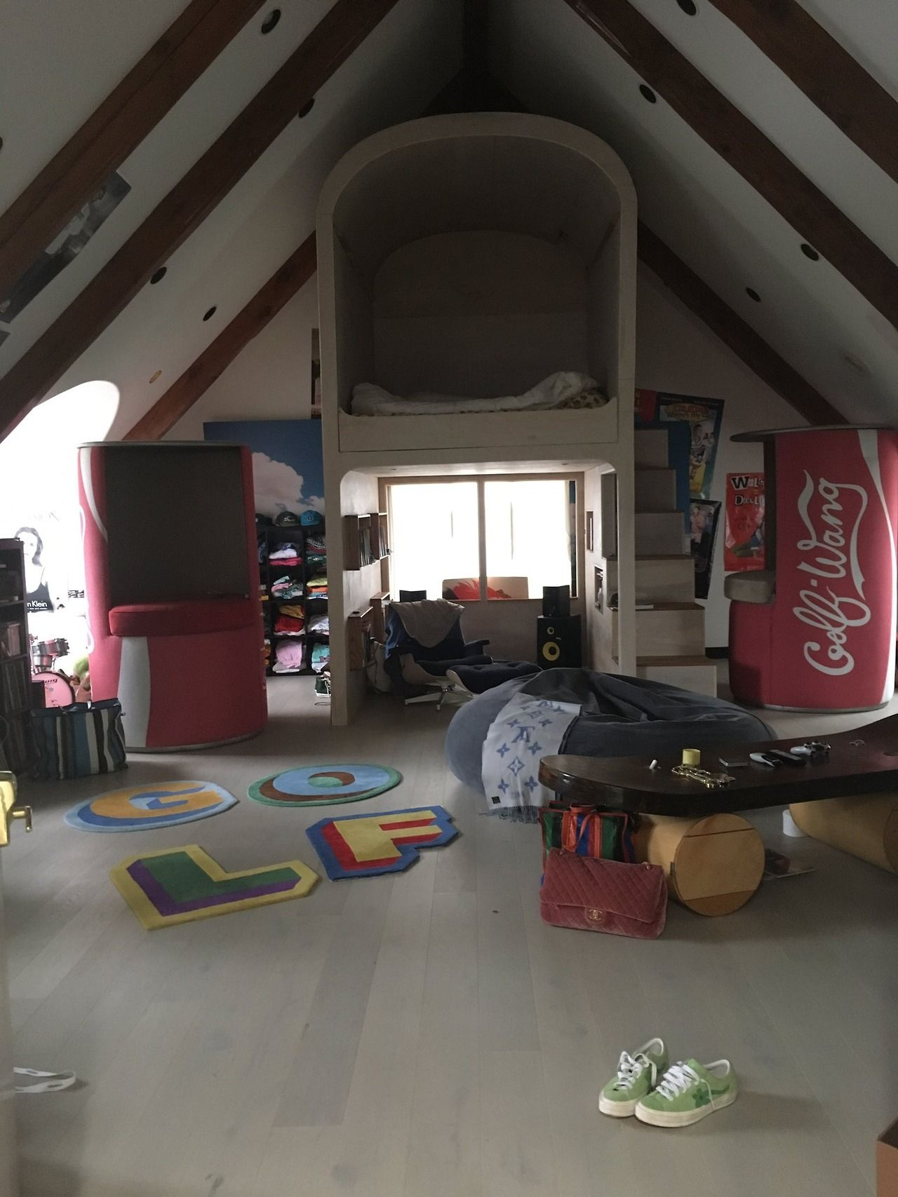 Tyler The Creator S Room Via His Twitter I Fucks With