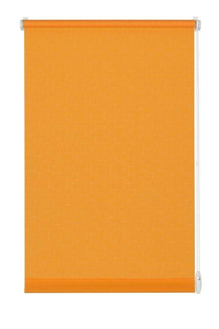 Gardinia 10012504 Easyfix Persiana avvolgibile a tinta unita, per finestre, 60x150 cm, colore: Arancione EURO 17,98