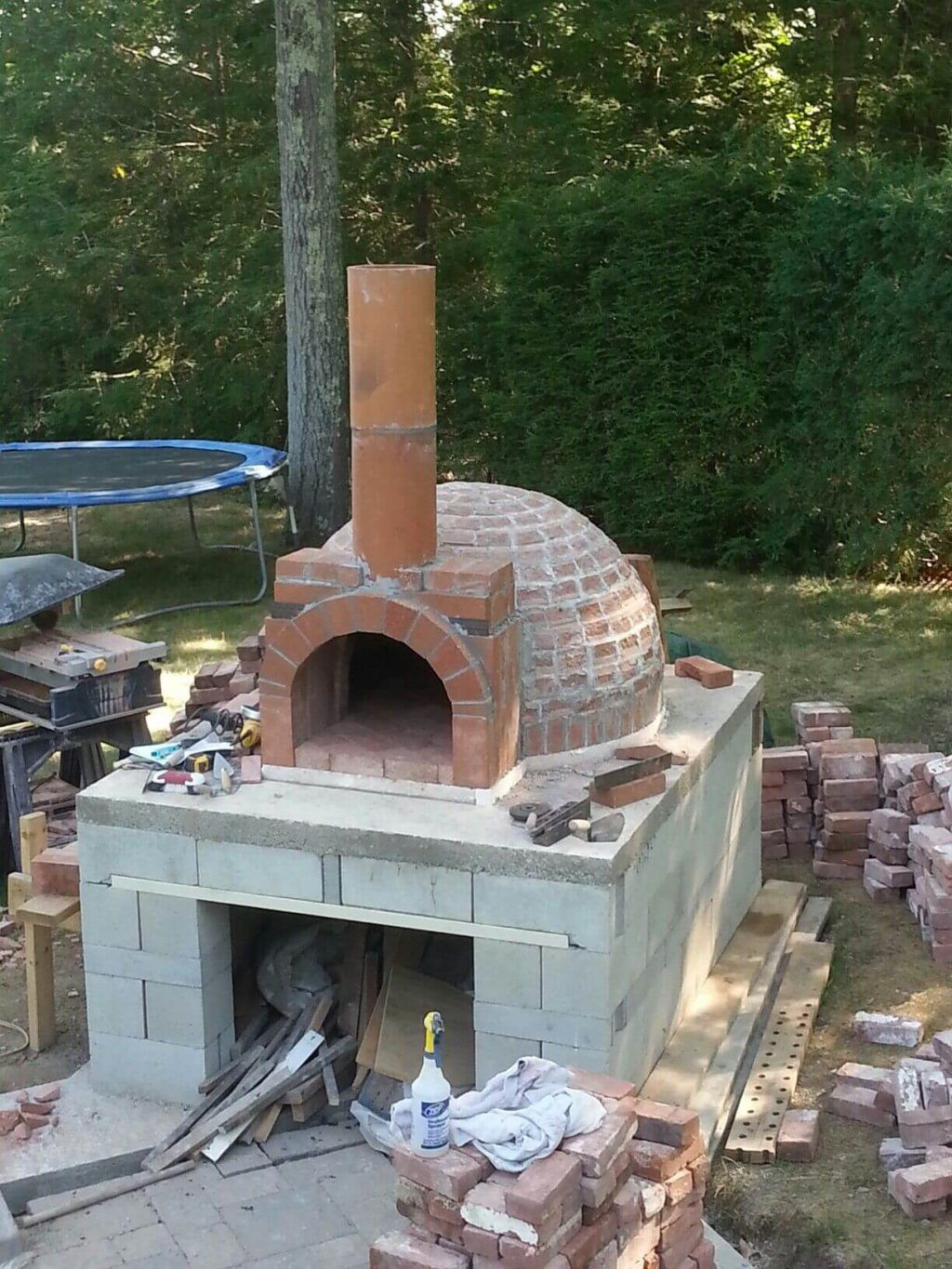 How To Build An Outdoor Pizza Oven Guide Step By Step Pizza Oven Outdoor Outdoor Pizza Backyard Pizza Oven Backyard diy pizza oven