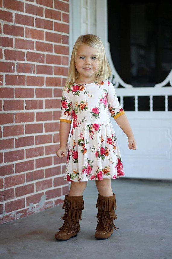 Brooklyn Dress & Maxi PDF Sewing Pattern Sizes 1/2-14 | Pinterest ...