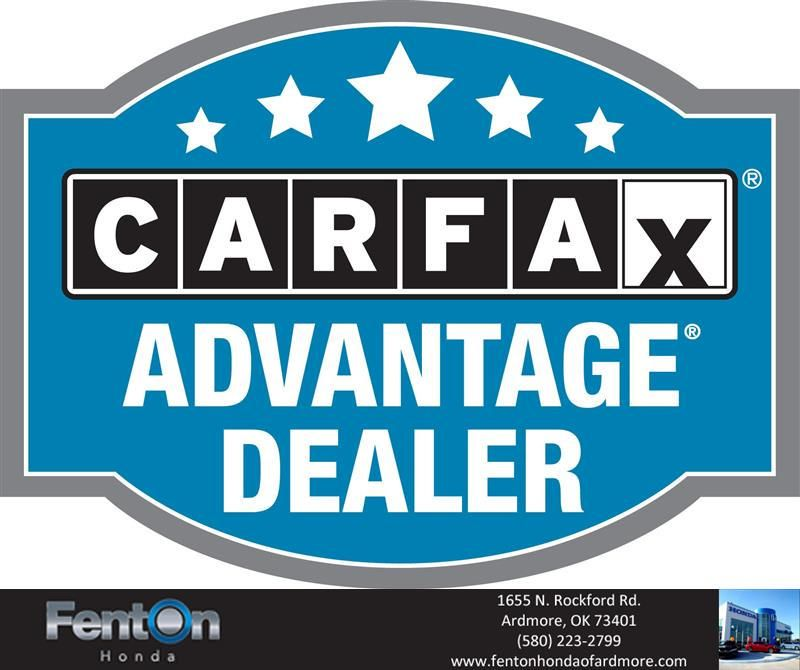 Get your free Carfax report at Fenton Honda of Ardmore