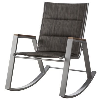 $99 Threshold™ Bryant Sling Patio Rocking Chair   Target