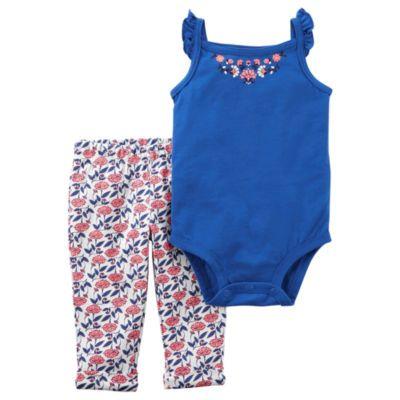 571f3f27c Buy Carter s Floral Bodysuit   Legging 2 Piece Set - Baby Girl NB ...
