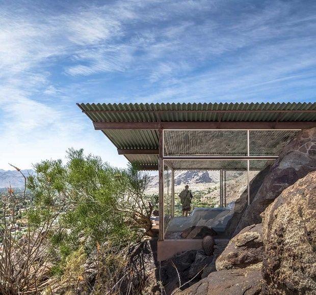the desert modern style albert frey house ii in palm spings deserts