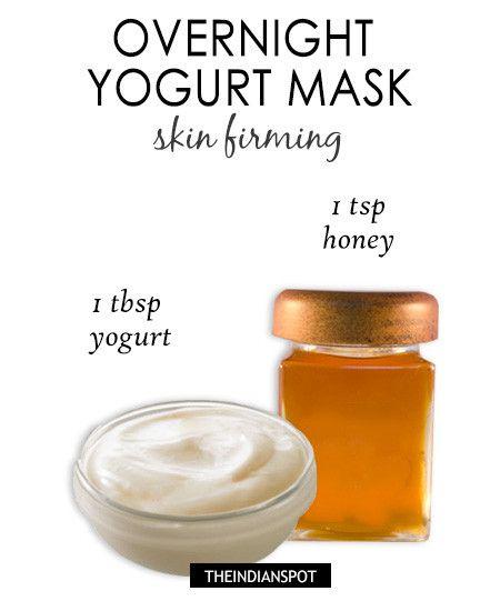 overnight honey face mask