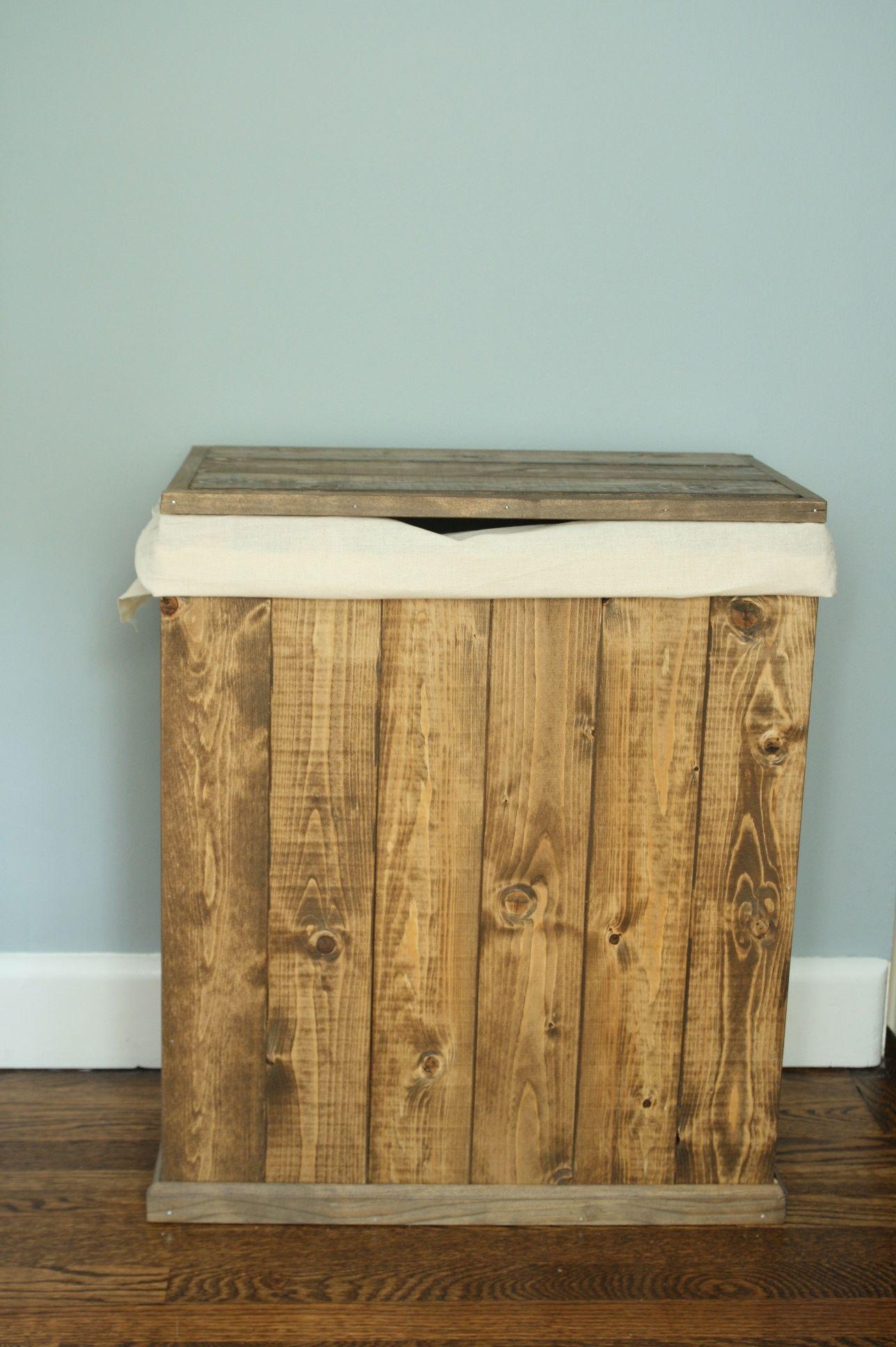 Image Result For Wooden Trash Bin Wooden Laundry Hamper Wooden
