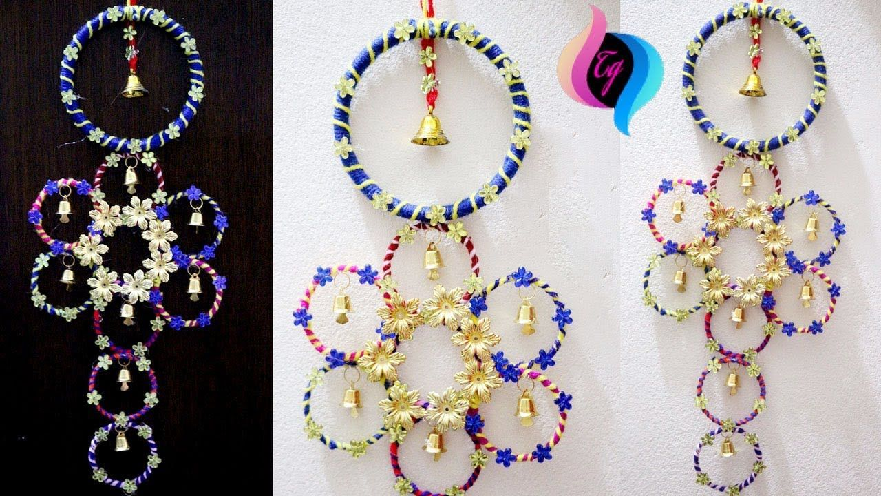 How To Use Old Bangles For Decoration How To Use Waste