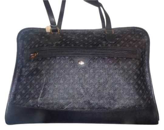 f79d6b43fda Gucci Extra Large Size Satchel Or New Old Stock Link Logo Multi-compartment  Tote in black