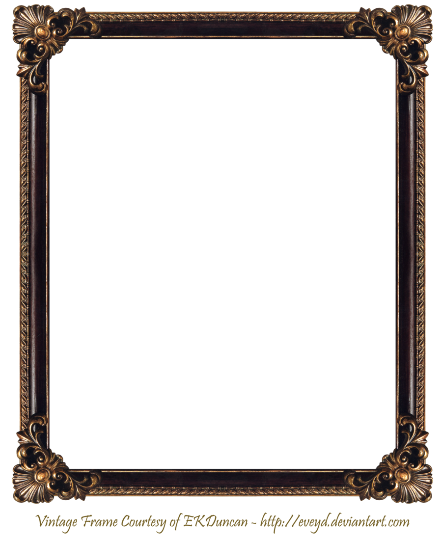 frame png elaborate wood frame 3 by ekduncan by eveyd on deviantart