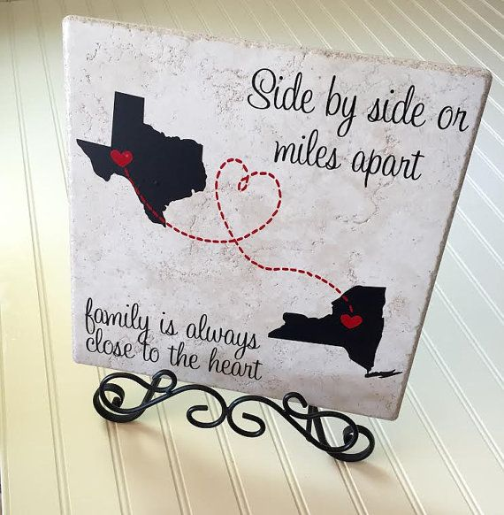 Side By Side Or Miles Apart Family Is Always Close To
