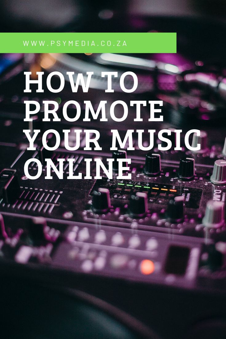 How To Promote Your Music Online Music Online Your Music Music