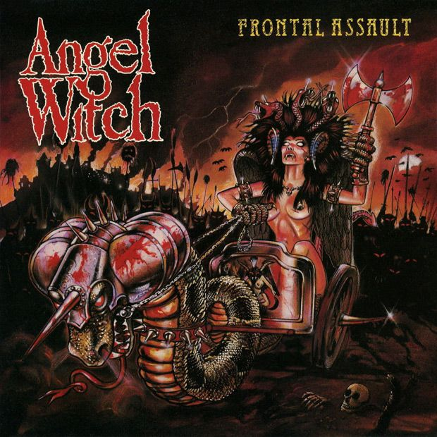 Angel Witch Frontal Assault My Second Favorite Angel