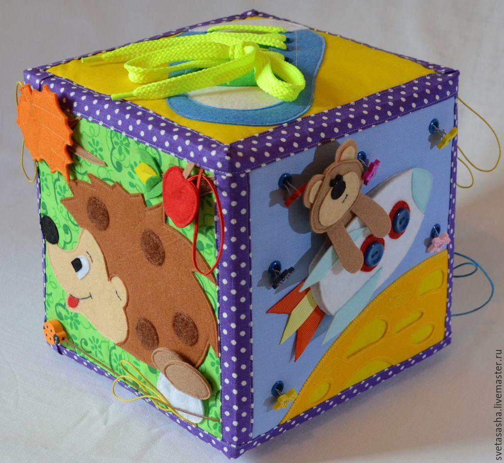 Сделать развивающие кубики своими руками 700