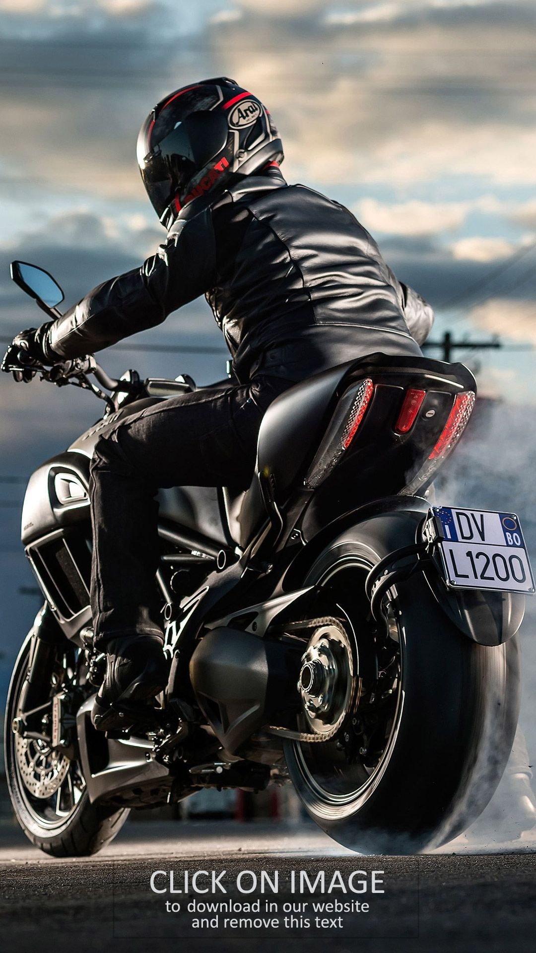 Wallpaper Motorcycle High Resolution 1080 x 1920 HD for iPhone and Android