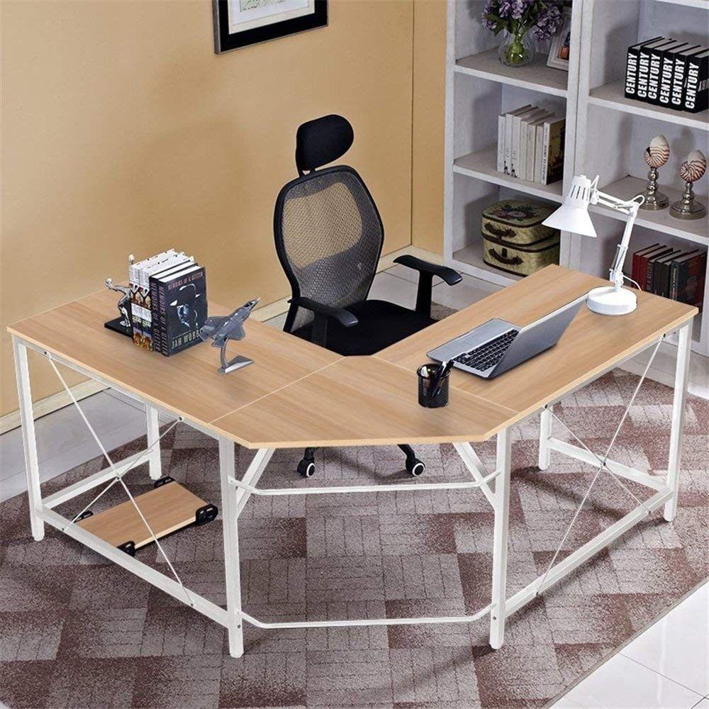 Dlandhome L Shaped Computer Desk 59