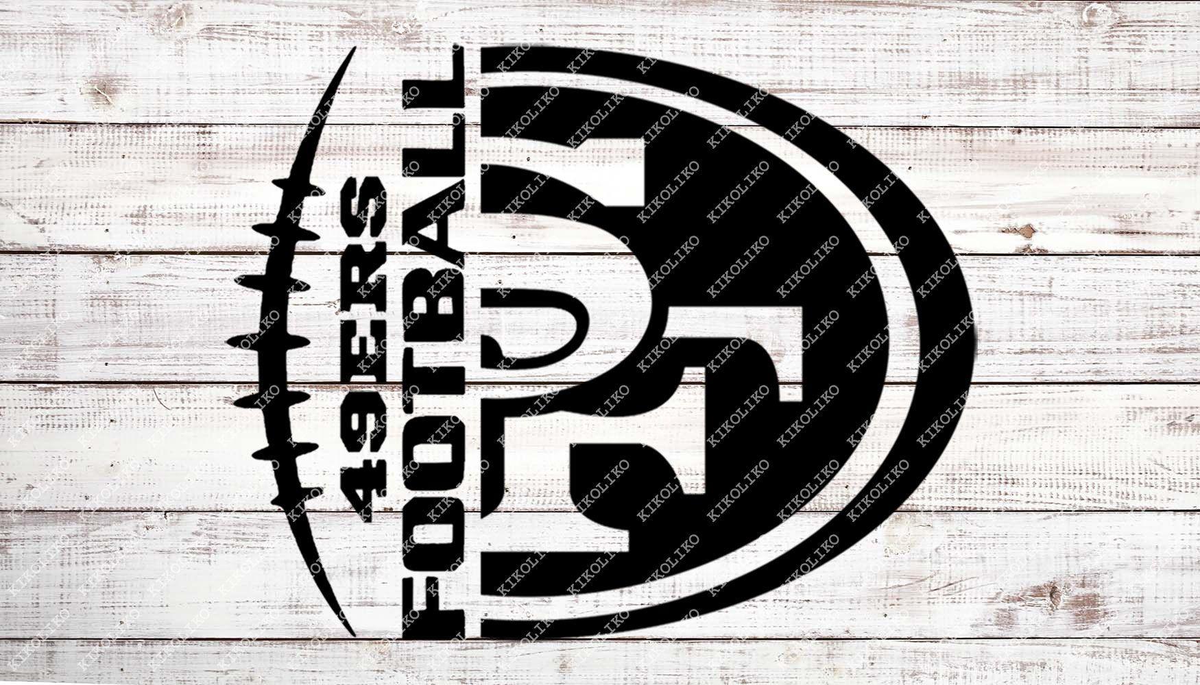 49ers Football Svg Football Svg San Francisco 49ers