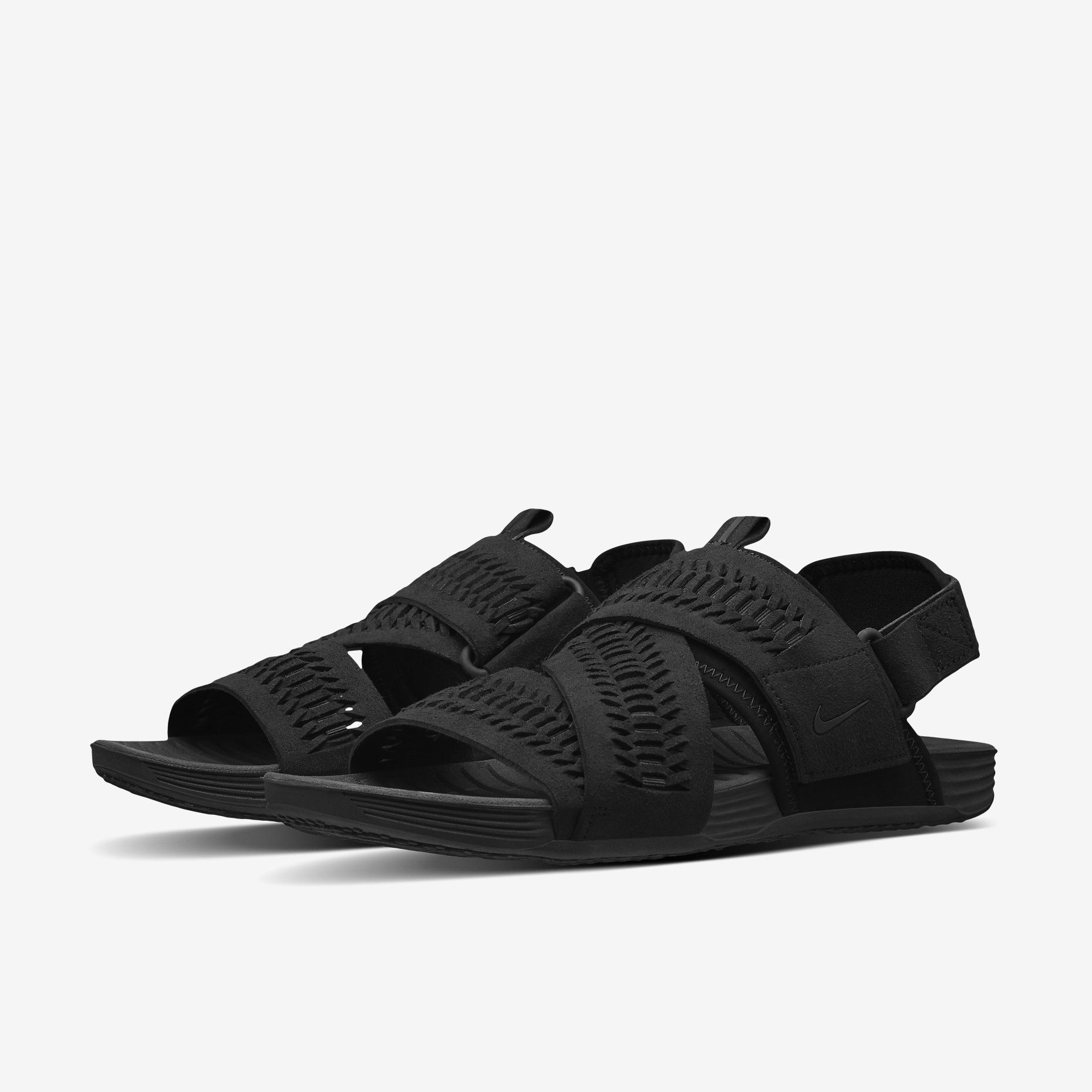 1d6bfd7c07ba NikeLab Air Solarsoft Zigzag Woven Men s Sandal. Nike Store