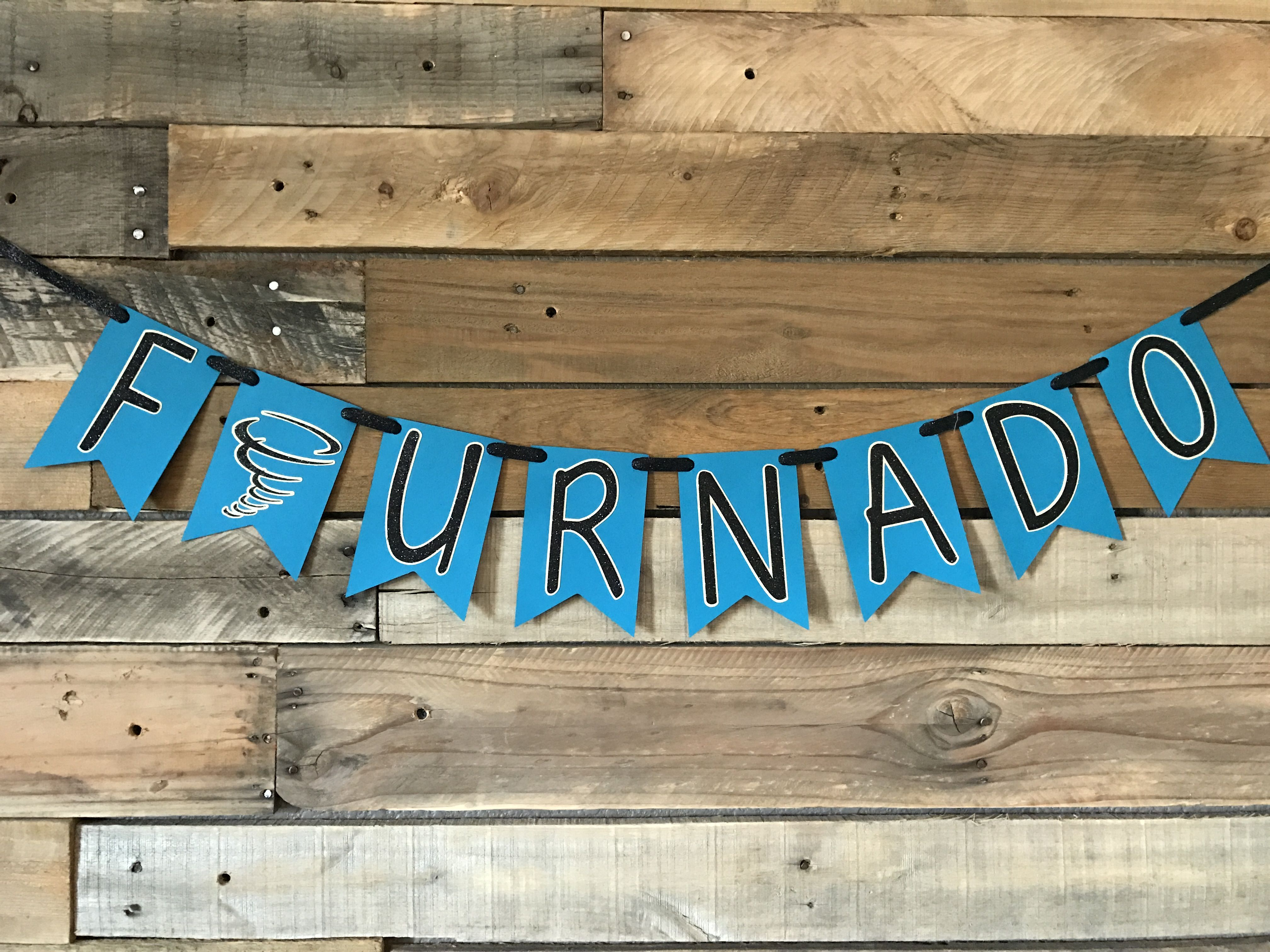 Four Nado Banner For A Fourth Birthday Party Birthday Parties Birthday Fourth Birthday