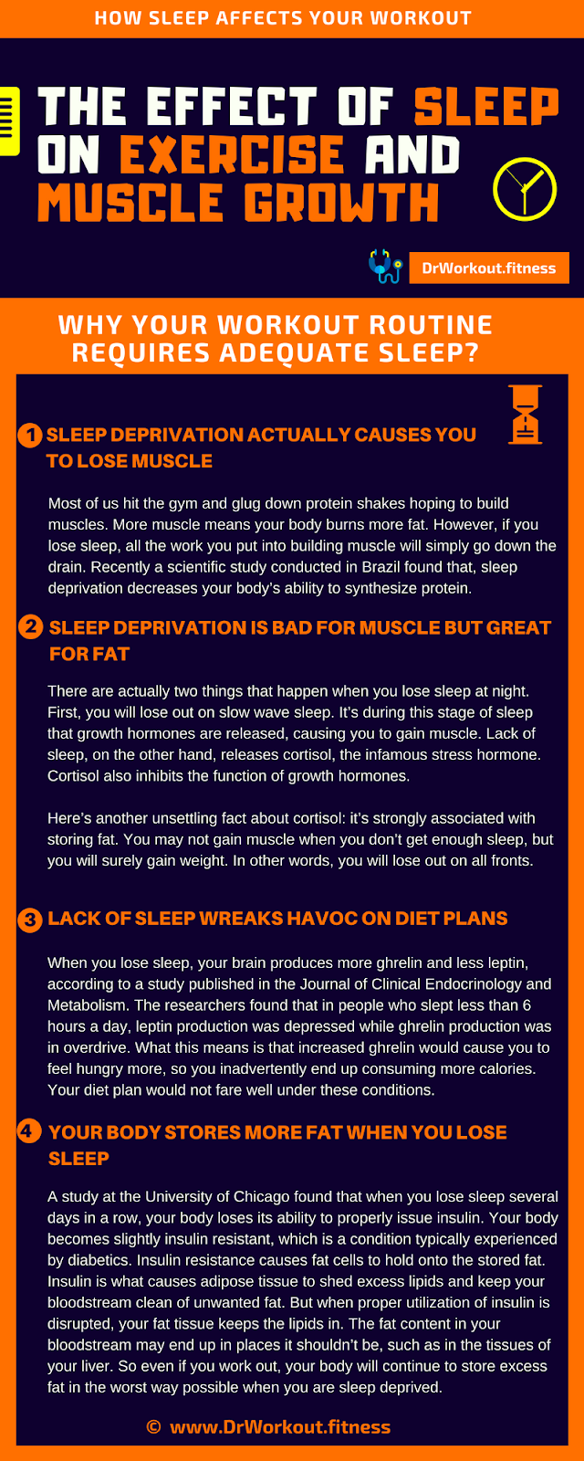 The Effect of Sleep on Exercise and Muscle Growth #exercise