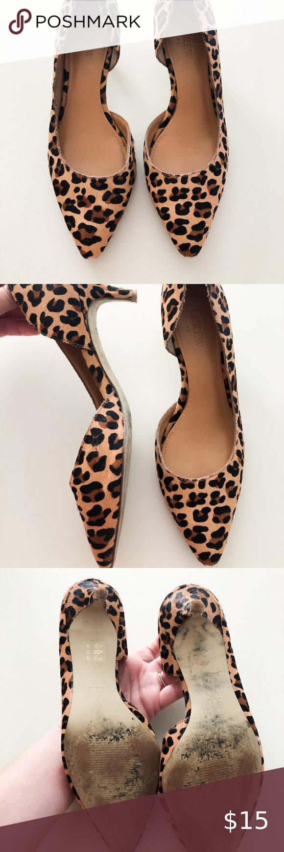 Jcrew Leopard Print Kitten Heels In 2020 Shoes Women Heels Heels Kitten Heels