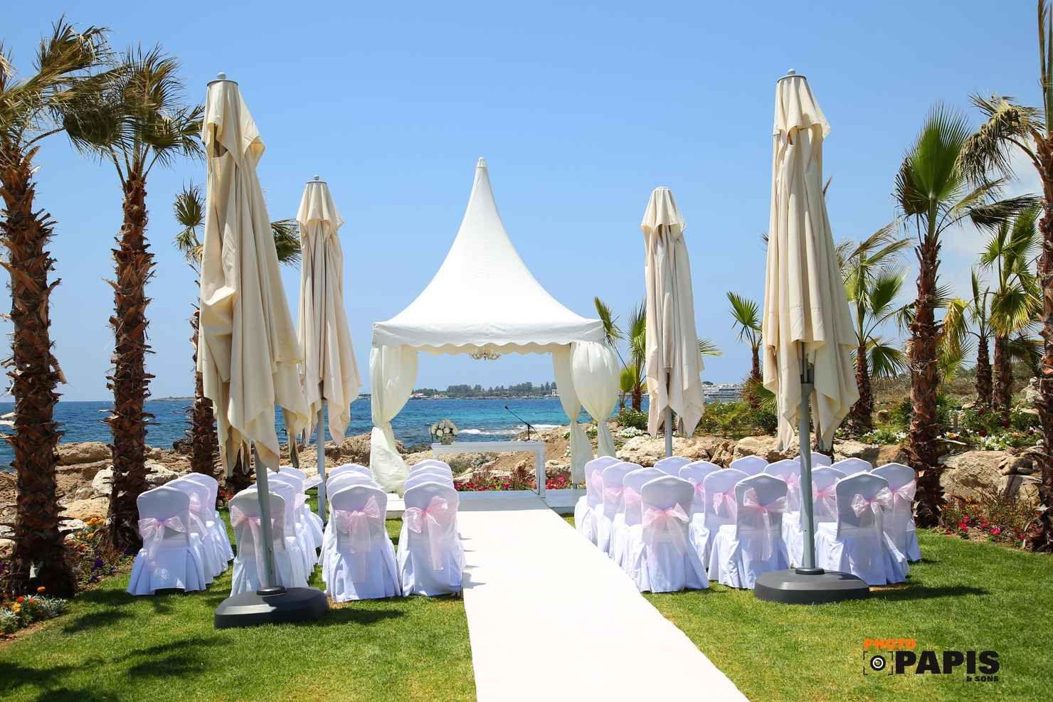 Beautiful Wedding On The Beach Limassol Cyprus