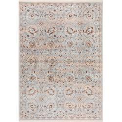 Photo of benuta carpet Safira blue 240×310 cm – vintage carpet in the used look benuta
