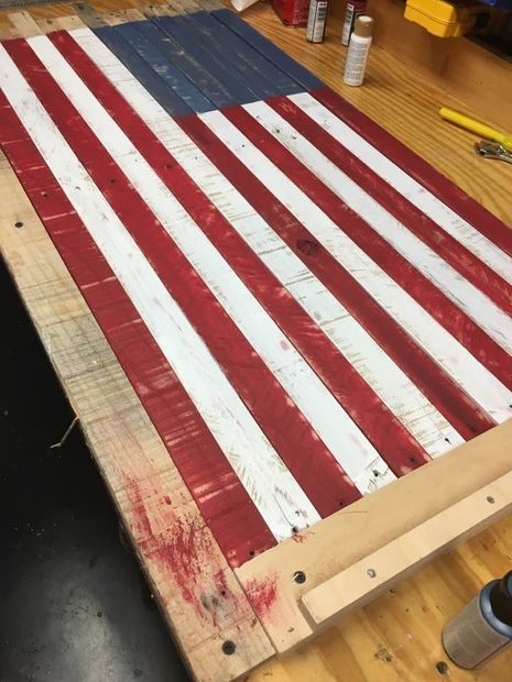 Picture of Assembly   Wood pallets, Coffee table, Woodworking