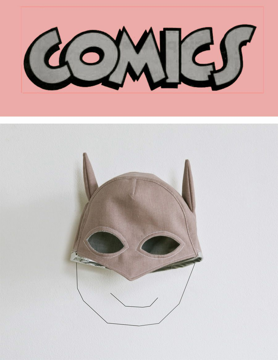 Lieschen Mueller Comic super hero Cap hat- great!   Things for my ...